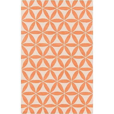 Surya Brentwood BNT7696-58 Hand Hooked Rug, 5' x 8' Rectangle