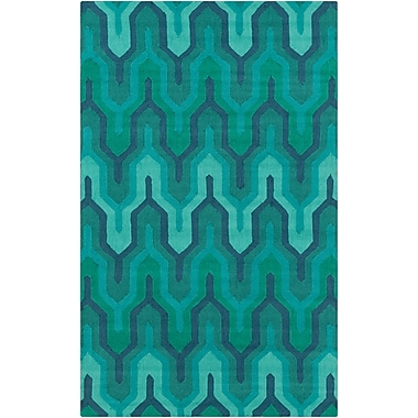 Surya Brentwood BNT7700-58 Hand Hooked Rug, 5' x 8' Rectangle