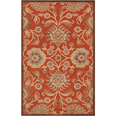 Surya Caesar CAE1062-46 Hand Tufted Rug, 4' x 6' Rectangle