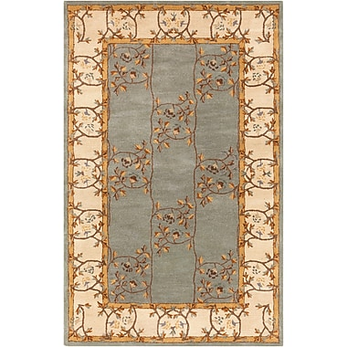 Surya Caesar CAE1100-46 Hand Tufted Rug, 4' x 6' Rectangle