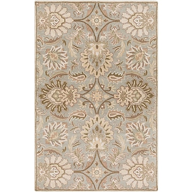 Surya Caesar CAE1111-46 Hand Tufted Rug, 4' x 6' Rectangle