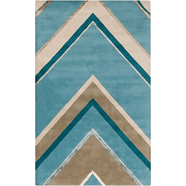 Surya Candice Olson Modern Classics CAN2057-58 Hand Tufted Rug, 5' x 8' Rectangle