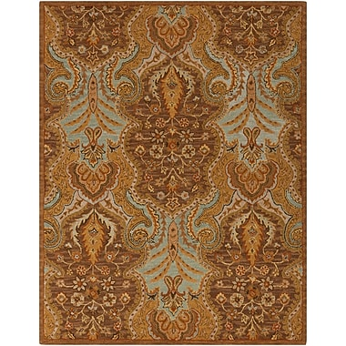 Surya Carrington CAR1001-58 Hand Hooked Rug, 5' x 8' Rectangle