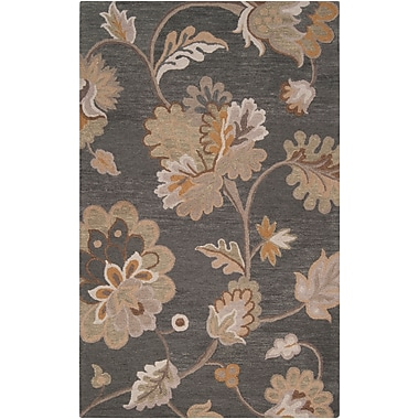 Surya Calypso CLP5005-58 Hand Hooked Rug, 5' x 8' Rectangle