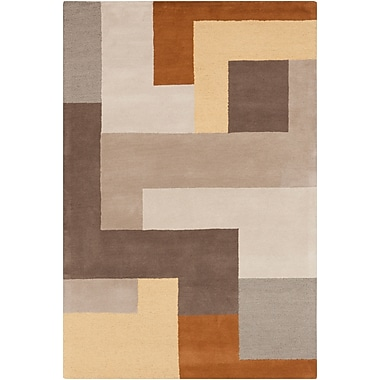 Surya Centennial CNT1087-58 Hand Hooked Rug, 5' x 8' Rectangle