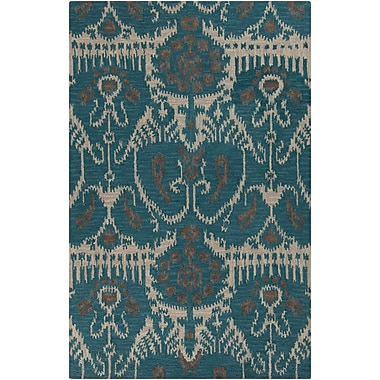 Surya Centennial CNT1089-58 Hand Hooked Rug, 5' x 8' Rectangle