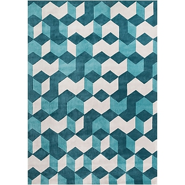 Surya Cosmopolitan COS9189-913 Hand Tufted Rug, 9' x 13' Rectangle
