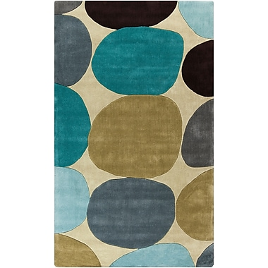 Surya Cosmopolitan COS9204-913 Hand Tufted Rug, 9' x 13' Rectangle