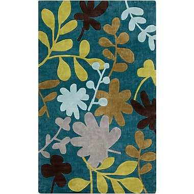 Surya Cosmopolitan COS9208-58 Hand Tufted Rug, 5' x 8' Rectangle
