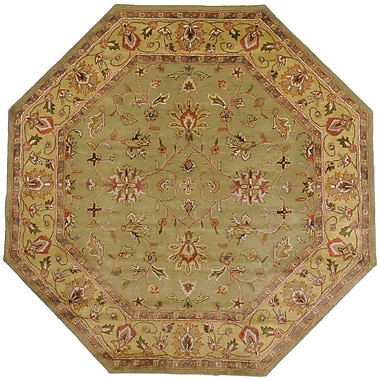 Surya Crowne CRN6001-8OCT Hand Tufted Rug, 8' Octagon