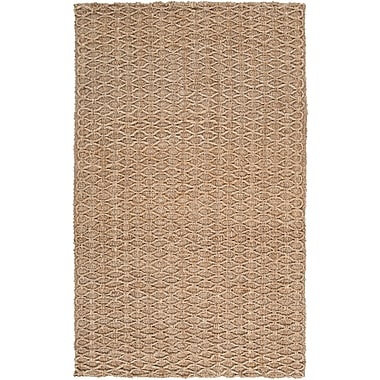 Surya Country Living Country Jutes CTJ2028-58 Hand Woven Rug, 5' x 8' Rectangle
