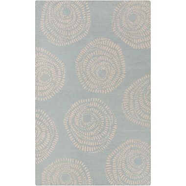 Surya Lotta Jansdotter Decorativa DCR4009-58 Hand Tufted Rug, 5' x 8' Rectangle
