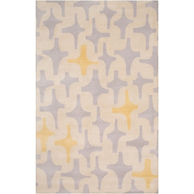 Surya Lotta Jansdotter Decorativa DCR4018-23 Hand Tufted Rug, 2' x 3' Rectangle