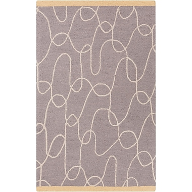 Surya Lotta Jansdotter Decorativa DCR4021-58 Hand Tufted Rug, 5' x 8' Rectangle