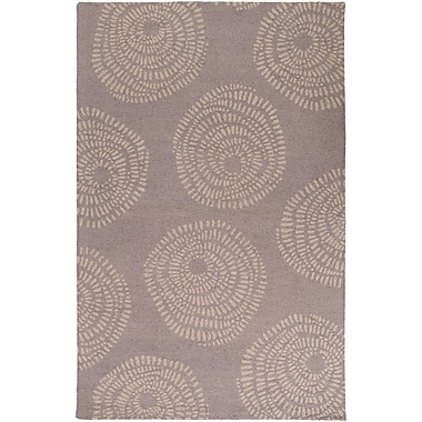 Surya Lotta Jansdotter Decorativa DCR4026-58 Hand Tufted Rug, 5' x 8' Rectangle