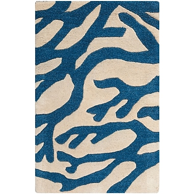 Surya Somerset Bay Escape ESP3000-23 Hand Tufted Rug, 2' x 3' Rectangle