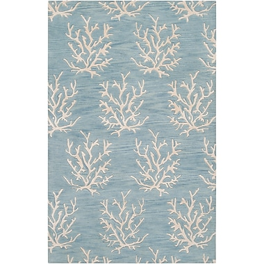 Surya Somerset Bay Escape ESP3013-23 Hand Tufted Rug, 2' x 3' Rectangle