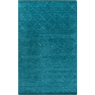 Surya Etching ETC4967-58 Hand Loomed Rug, 5' x 8' Rectangle