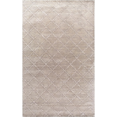 Surya Etching ETC4969-58 Hand Loomed Rug, 5' x 8' Rectangle