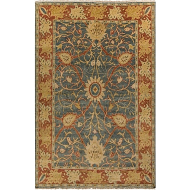 Surya Hillcrest HIL9016-23 Hand Knotted Rug, 2' x 3' Rectangle