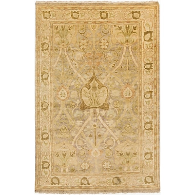 Surya Hillcrest HIL9021-811 Hand Knotted Rug, 8' x 11' Rectangle