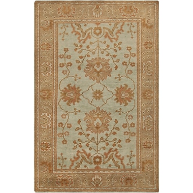 Surya Haven HVN1214-23 Hand Knotted Rug, 2' x 3' Rectangle