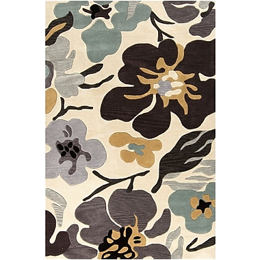 Surya Lava LVA8017-23 Hand Tufted Rug, 2' x 3' Rectangle