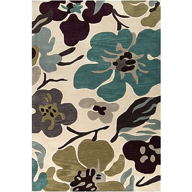 Surya Lava LVA8018-23 Hand Tufted Rug, 2' x 3' Rectangle
