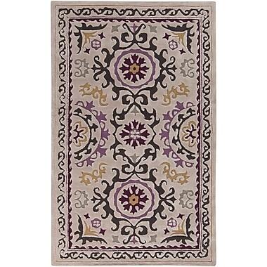 Surya Mamba MBA9022-811 Hand Tufted Rug, 8' x 11' Rectangle