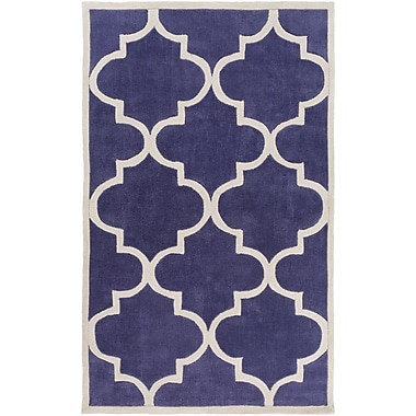 Surya Mamba MBA9067-58 Hand Tufted Rug, 5' x 8' Rectangle