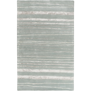 Surya GlucksteinHome Manor MNR1007-811 Hand Tufted Rug, 8' x 11' Rectangle