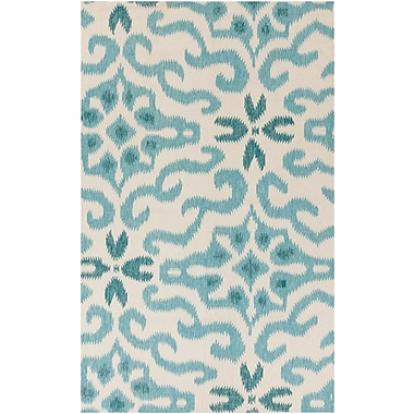 Surya KD Spain Marseille MRS2008-58 Hand Woven Rug, 5' x 8' Rectangle