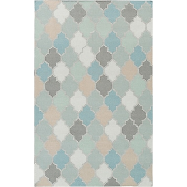 Surya Nia NIA7001-811 Hand Woven Rug, 8' x 11' Rectangle