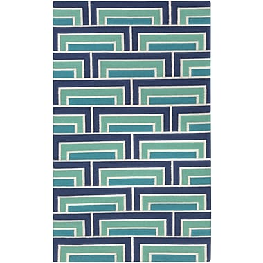 Surya Florence Broadhurst Paddington PDG2037-58 Hand Woven Rug, 5' x 8' Rectangle