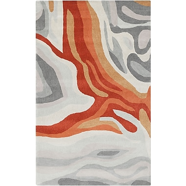 Surya Pigments PGM3004-58 Hand Tufted Rug, 5' x 8' Rectangle