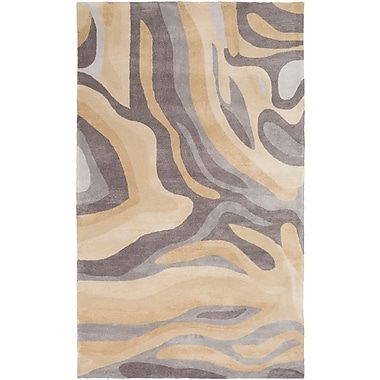 Surya Pigments PGM3005-58 Hand Tufted Rug, 5' x 8' Rectangle