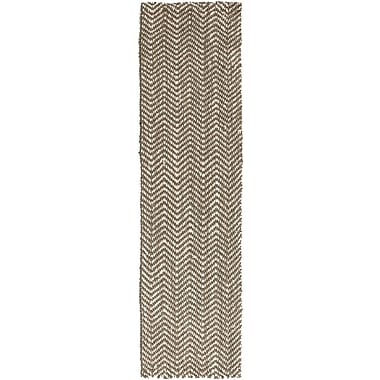 Surya Reeds REED800-811 Hand Woven Rug, 8' x 11' Rectangle