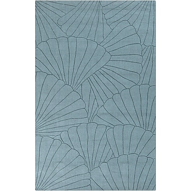 Surya Shell SHE1000-23 Hand Loomed Rug, 2' x 3' Rectangle