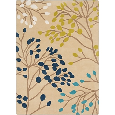 Surya Sanderson SND4534-58 Hand Tufted Rug, 5' x 8' Rectangle