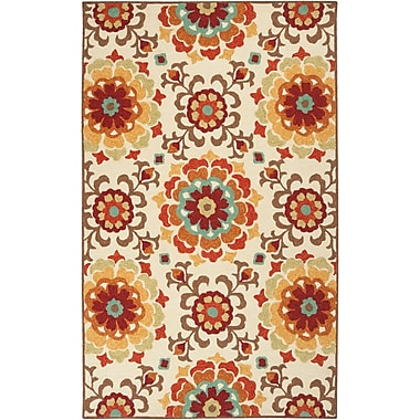 Surya Storm SOM7703-23 Hand Hooked Rug, 2' x 3' Rectangle