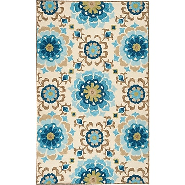 Surya Storm SOM7705-23 Hand Hooked Rug, 2' x 3' Rectangle