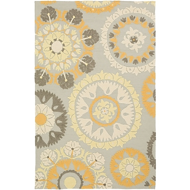 Surya Storm SOM7761-23 Hand Hooked Rug, 2' x 3' Rectangle