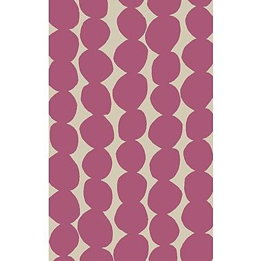 Surya Lotta Jansdotter Textila TXT3010-58 Hand Woven Rug, 5' x 8' Rectangle
