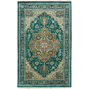 Surya Zeus ZEU7822-23 Hand Knotted Rug, 2' x 3' Rectangle