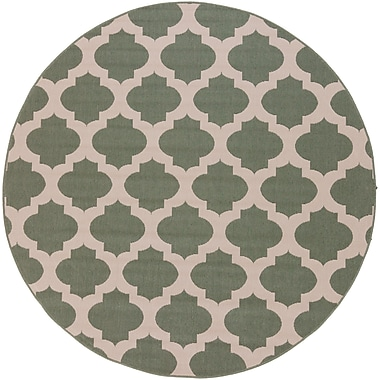 Surya Alfresco ALF9585-89RD Machine Made Rug, 8'9