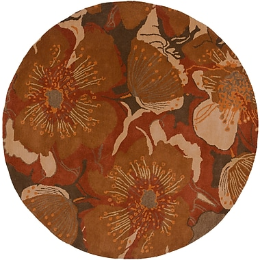 Surya Athena ATH5102-4RD Hand Tufted Rug, 4' Round