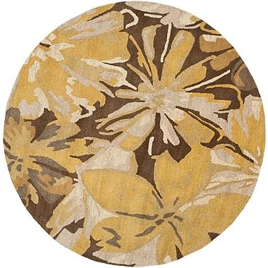 Surya Athena ATH5115-4RD Hand Tufted Rug, 4' Round