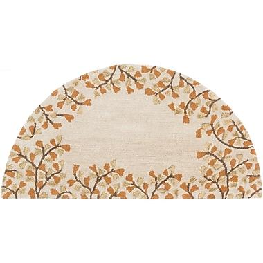 Surya Athena ATH5118-24HM Hand Tufted Rug, 2' x 4' Semi-Circle