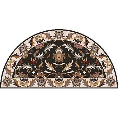 Surya Caesar CAE1130-24HM Hand Tufted Rug, 2' x 4' Semi-Circle