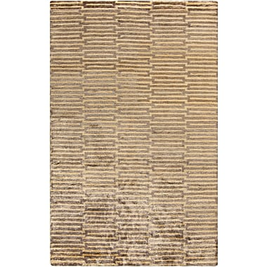 Surya Platinum PLAT9002-58 Hand Knotted Rug, 5' x 8' Rectangle